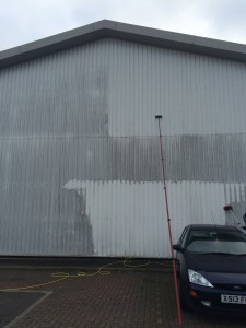 exterior commercial cleaning