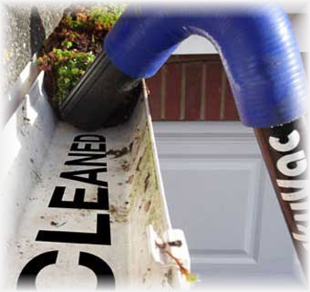 high level gutter cleaning - Clearview Cleaning Services
