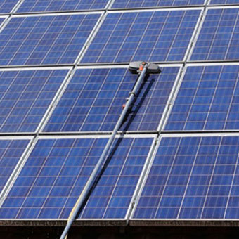 solar panel cleaning - Clearview Cleaning Services