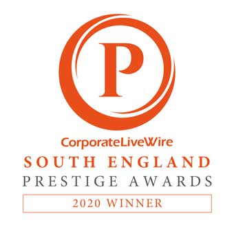 Corporate Live Wire South England prestige awards - 2020 winner