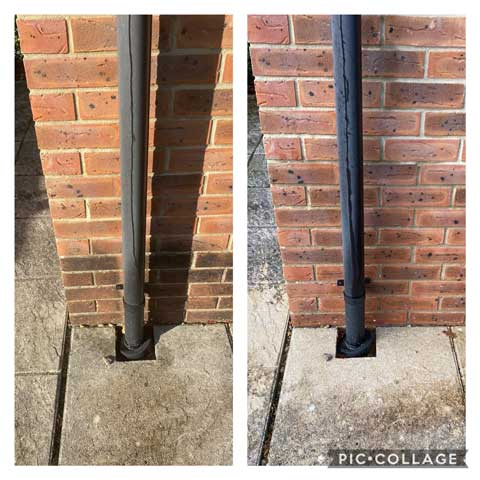 commercial structure cleaning example 2